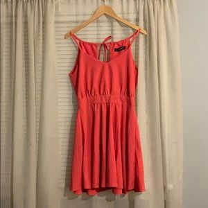 Coral Lucy love open back dress